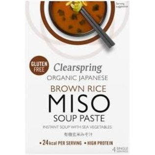 Clearspring Organic Japanese Brown Rice Miso Soup Paste