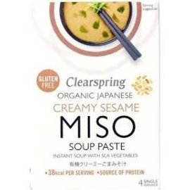Clearspring Organic Japanese Creamy Sesame Miso Soup Paste