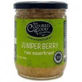 The Cultured Food Company Organic Juniper Berry Raw Sauerkraut