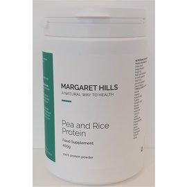 Margaret Hills Margaret Hills Pea and Rice Protein 450g