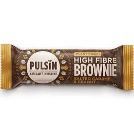 Pulsin Pulsin Salted Caramel & Peanut Brownie