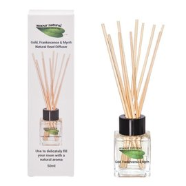 Amour Natural Gold Frankincense Reed diffuser