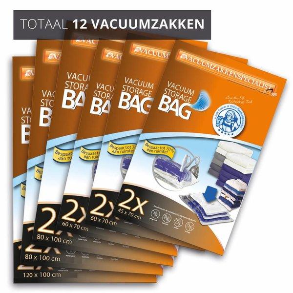 Pro Pakket Vacuumzakken Home [Set 12 Zakken]