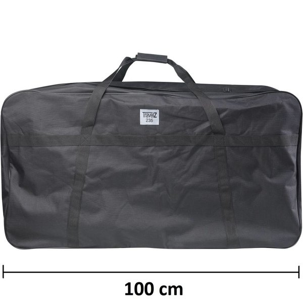 TravelZ Xxxxl Kledingtas 100 cm Zwart 103X57X41cm]