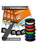 Pro Pakket Vacuumzakken voor Filament [Set 10 Zakken+Pomp]