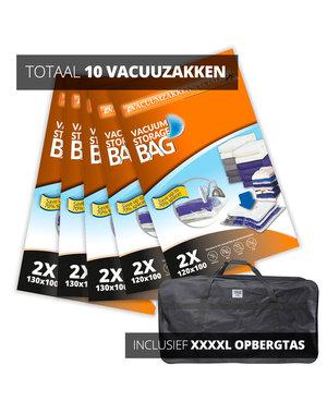 Pro Pakket Vacuumzakken voor Tuinkussens+Opbergtas [Set 10 Vacuumzakken+tas]