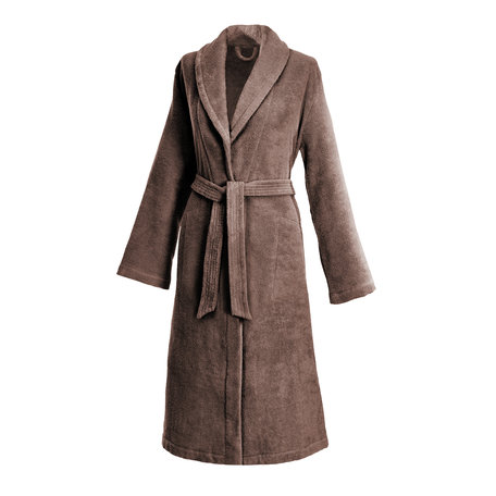 ROCKY BROWN | LADIES'  ROBE WITH SHAWL COLLAR