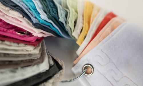 Musterringe und Farbkarten bestellen