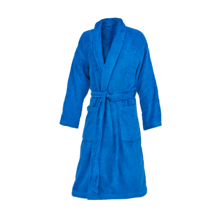 ROYAL BLUE | SHAWL COLLAR  ROBE UNISEX