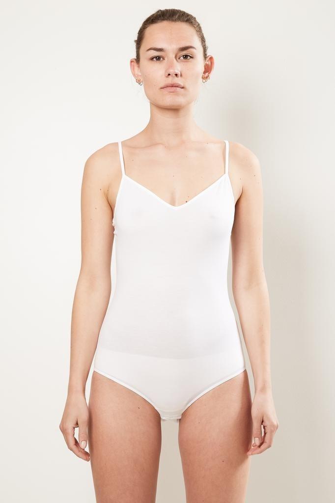 hanro body suit cotton sensation