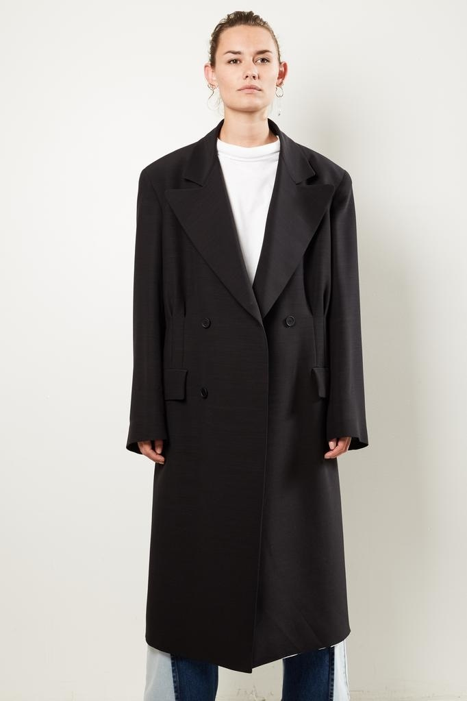 Maison Margiela Wool Silk coat.