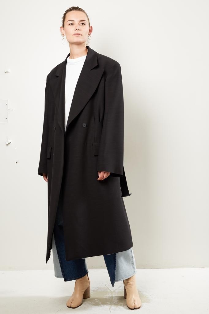 Maison Margiela - Wool Silk coat.