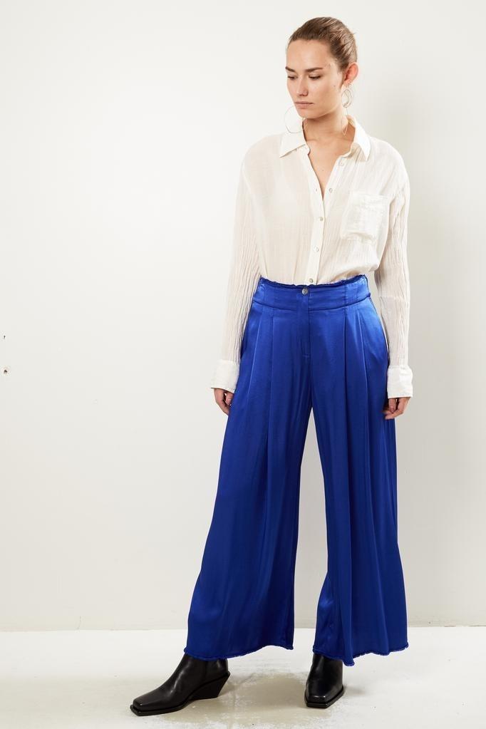Raquel Allegra - Pleated Trouser