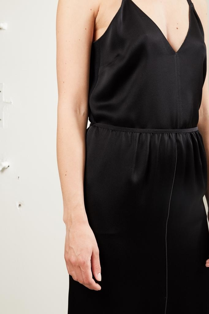 Forte Forte - viscose crepe enverssatin pencil skirt