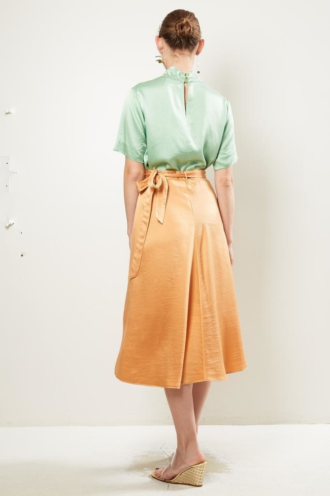 Forte Forte - Cloquet silk skirt.