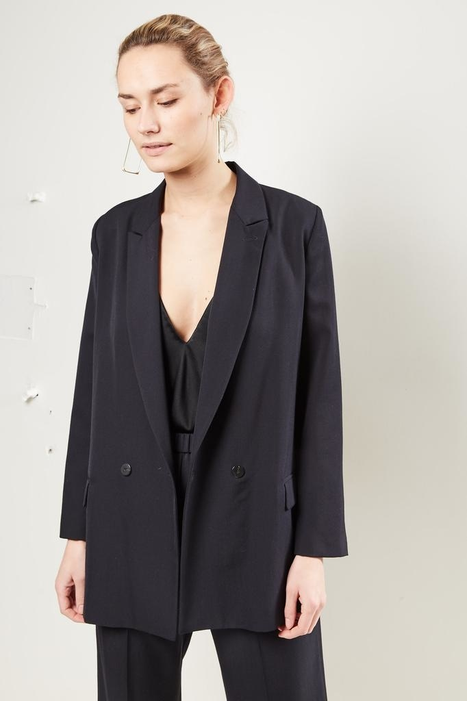 Forte Forte - Wool canvas belted jacket