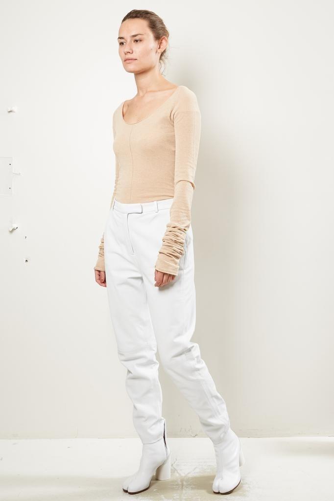 Frenken - Tumble washed leather pants