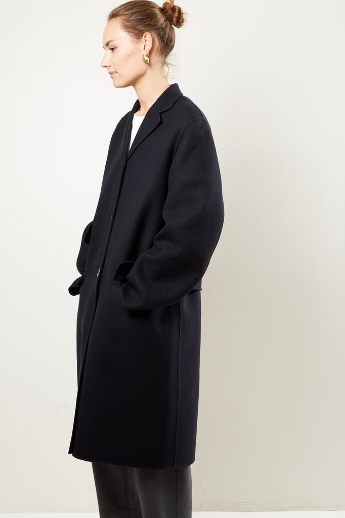 Sofie d'Hoore Cruz double faced wool coat