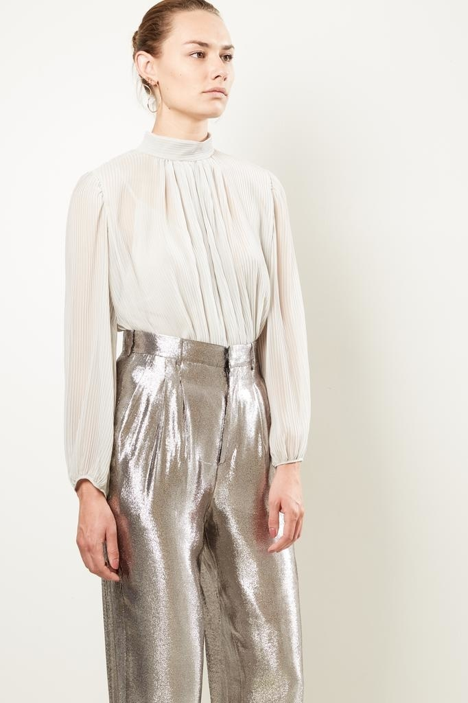 inDRESS - Pleated blouse