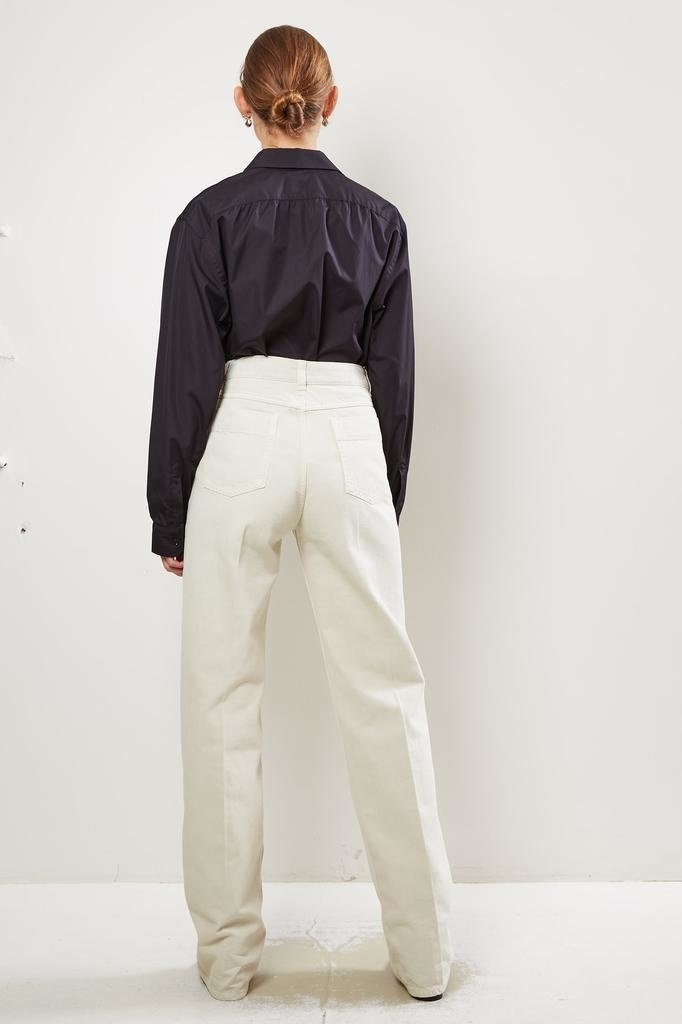 Lemaire High waist wide trousers