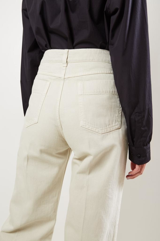Lemaire - High waist wide trousers.