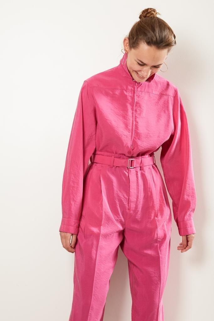 Lemaire - Zipped shirt.