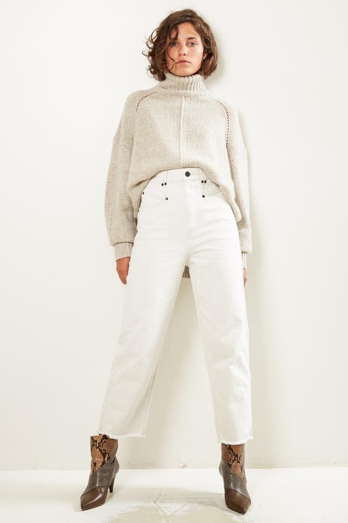 Isabel Marant - Daliska denim trousers