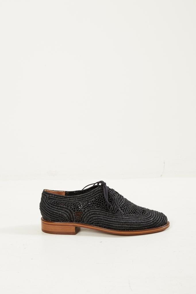 Clergerie - Paille lace up shoes Black.
