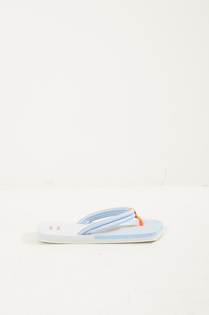 Yume Yume - Xigy japanese foam flip flops glacier grey cerulean orange