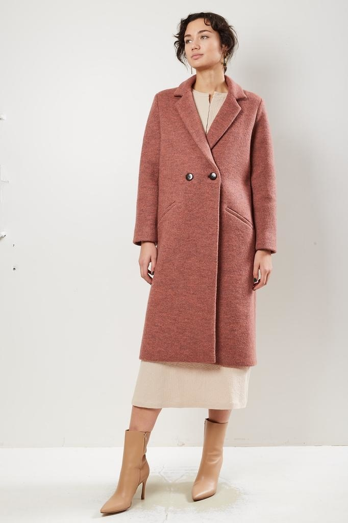 Mara Hoffman DOLORES 100% BOILED WOOL COAT