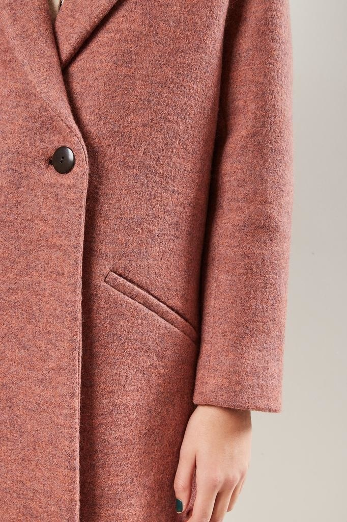 Mara Hoffman - DOLORES 100% BOILED WOOL COAT