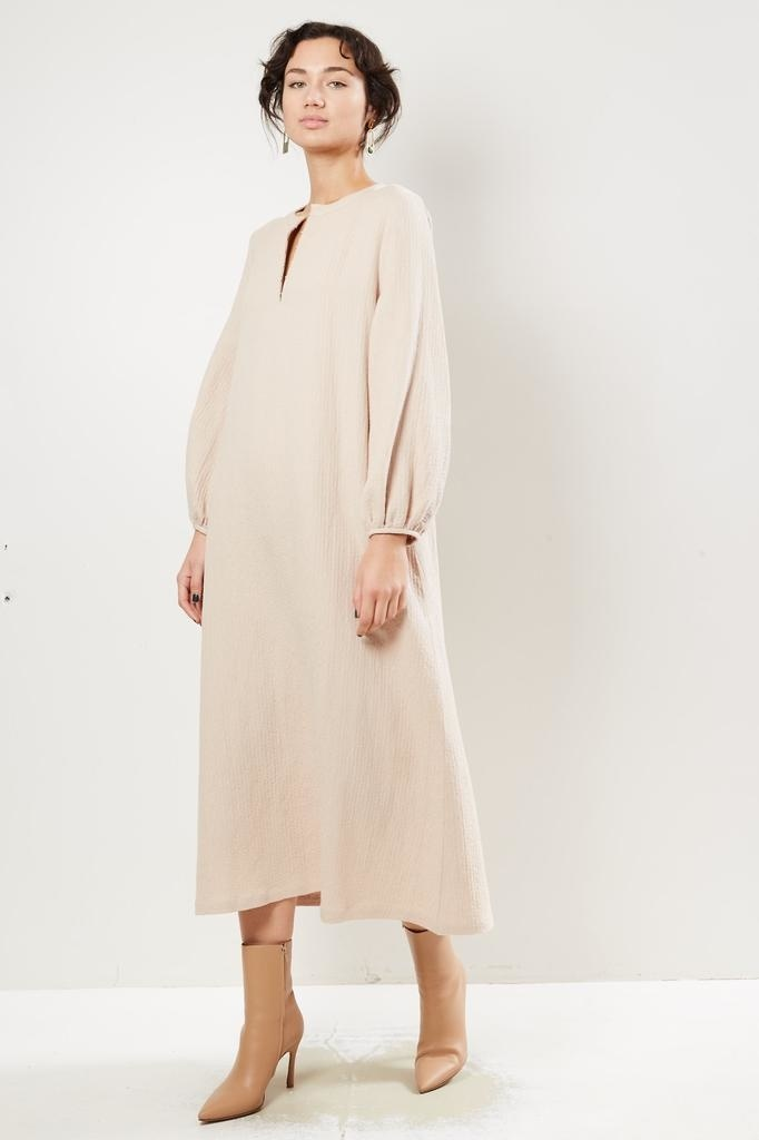 Mara Hoffman - JUNE ORGANIC COTTON LINEN WOVEN DRESS