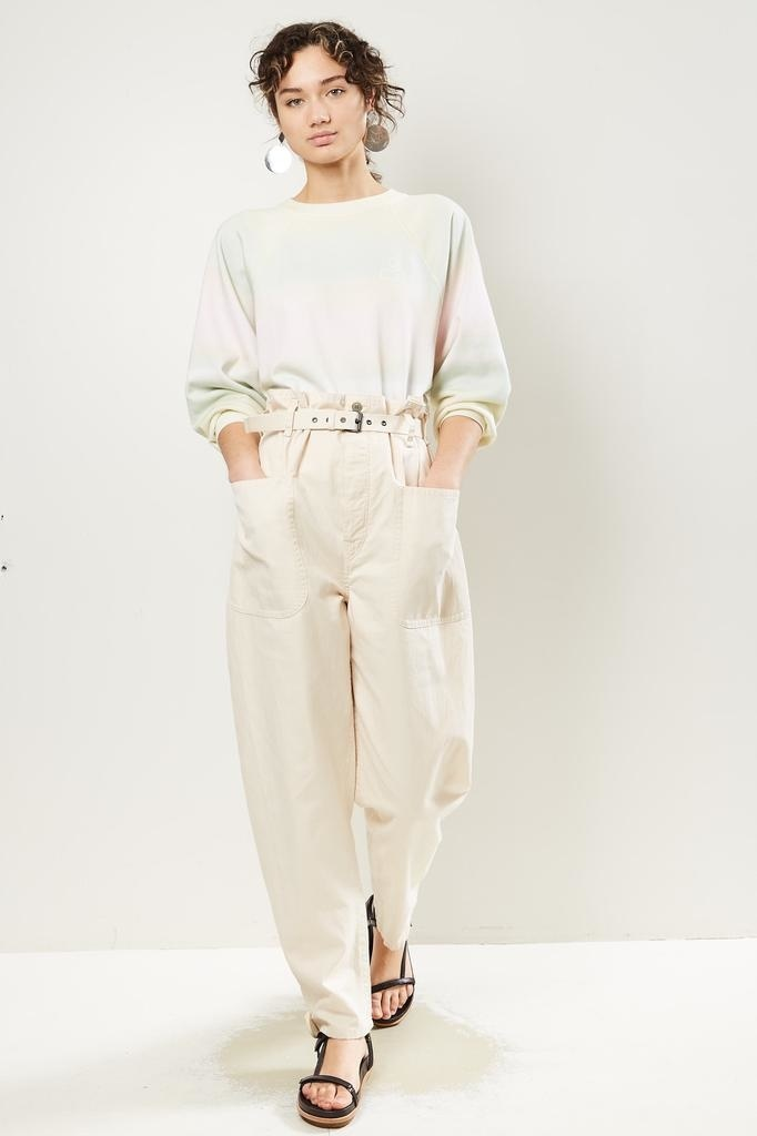 Etoile Isabel Marant Rinny cotton trench pant