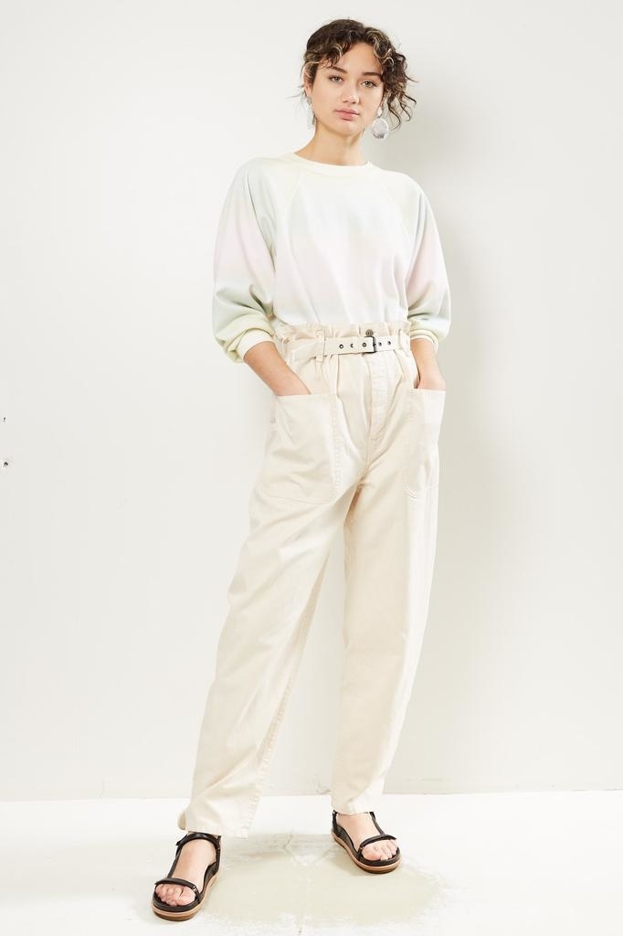 Etoile Isabel Marant - Rinny cotton trench pant
