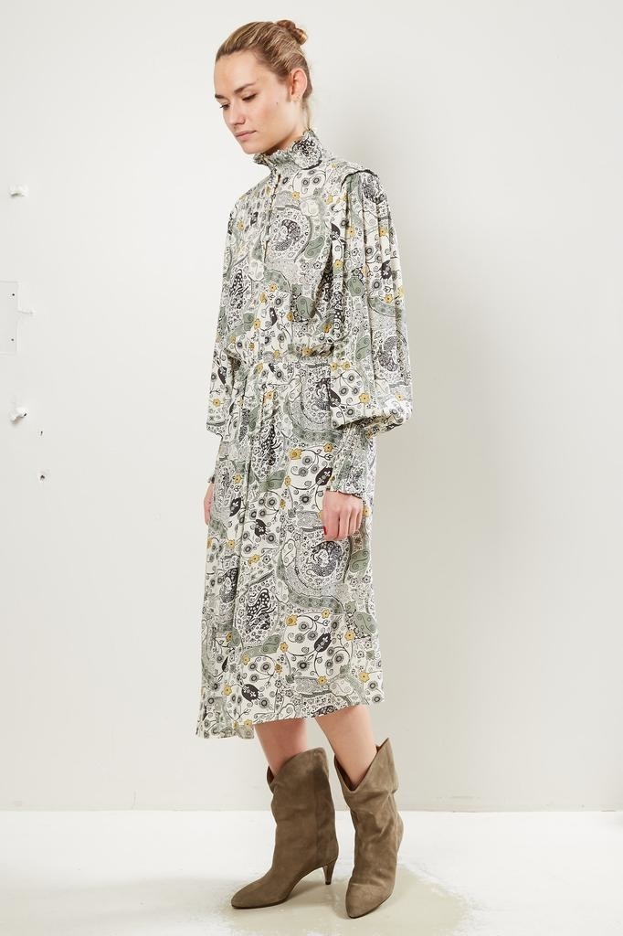 Etoile Isabel Marant Cescott printed city dress