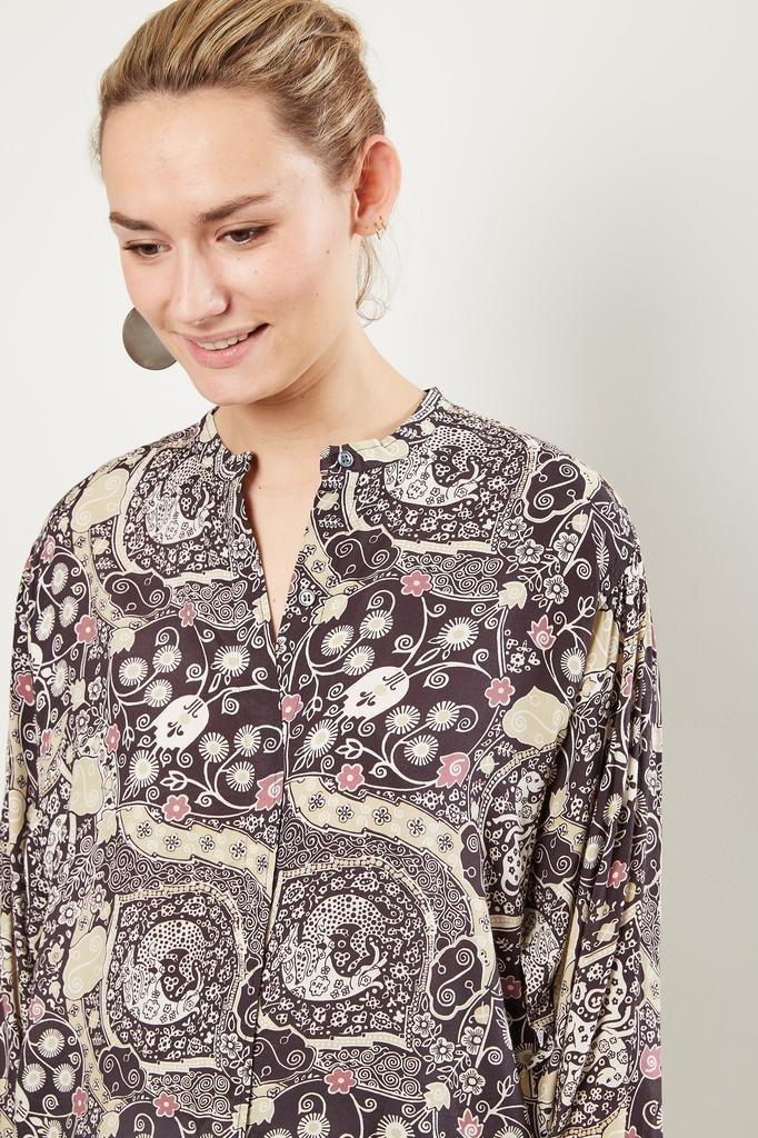 Etoile Isabel Marant Catchell printed city shirt