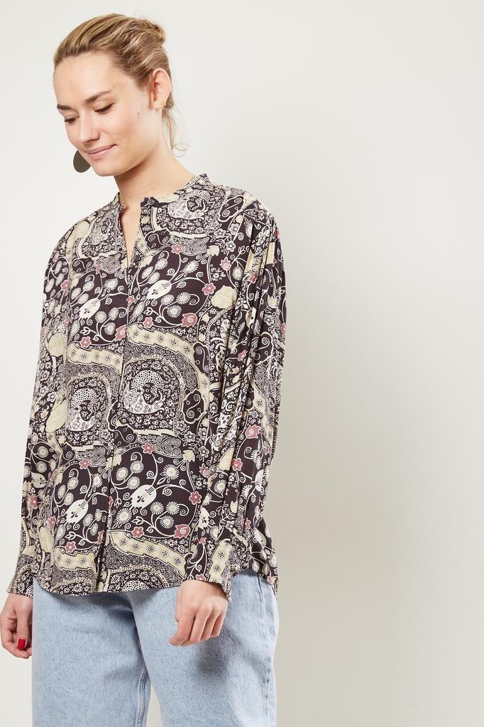 Etoile Isabel Marant - Catchell printed city shirt