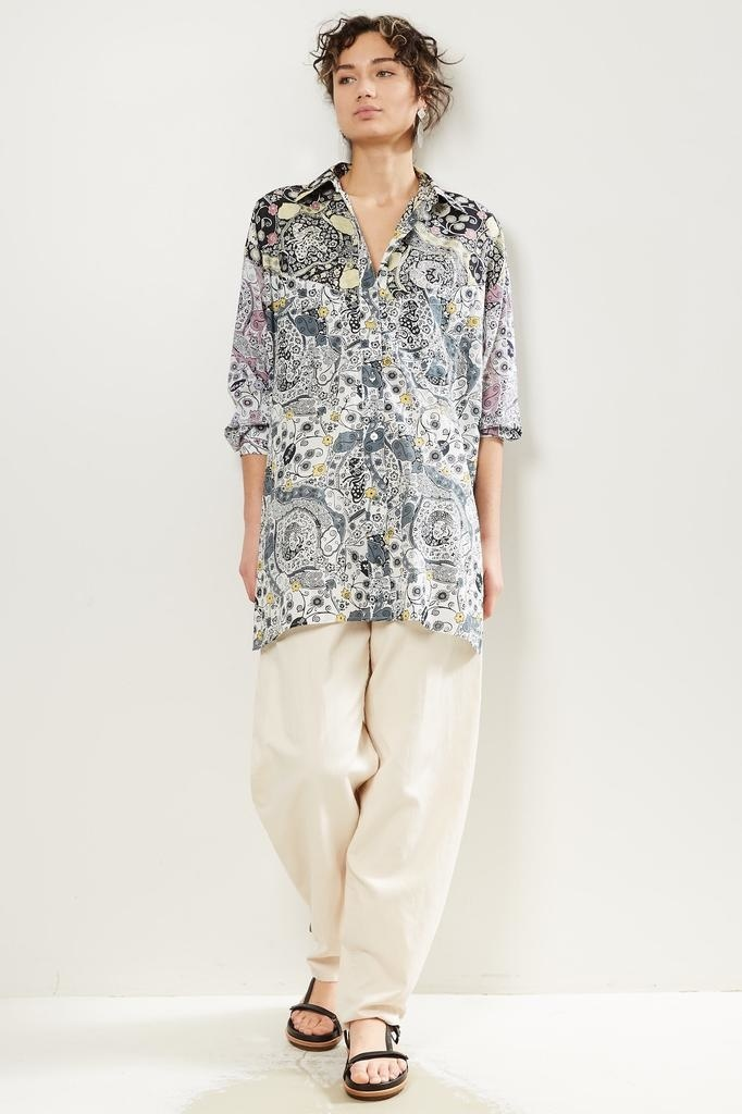 Etoile Isabel Marant Ussaya patchwork print top