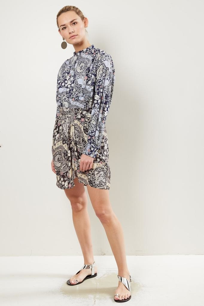 Etoile Isabel Marant Cegart printed city skirt