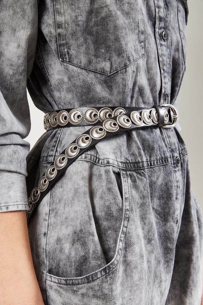 Isabel Marant - Zappi stud embellished belt.