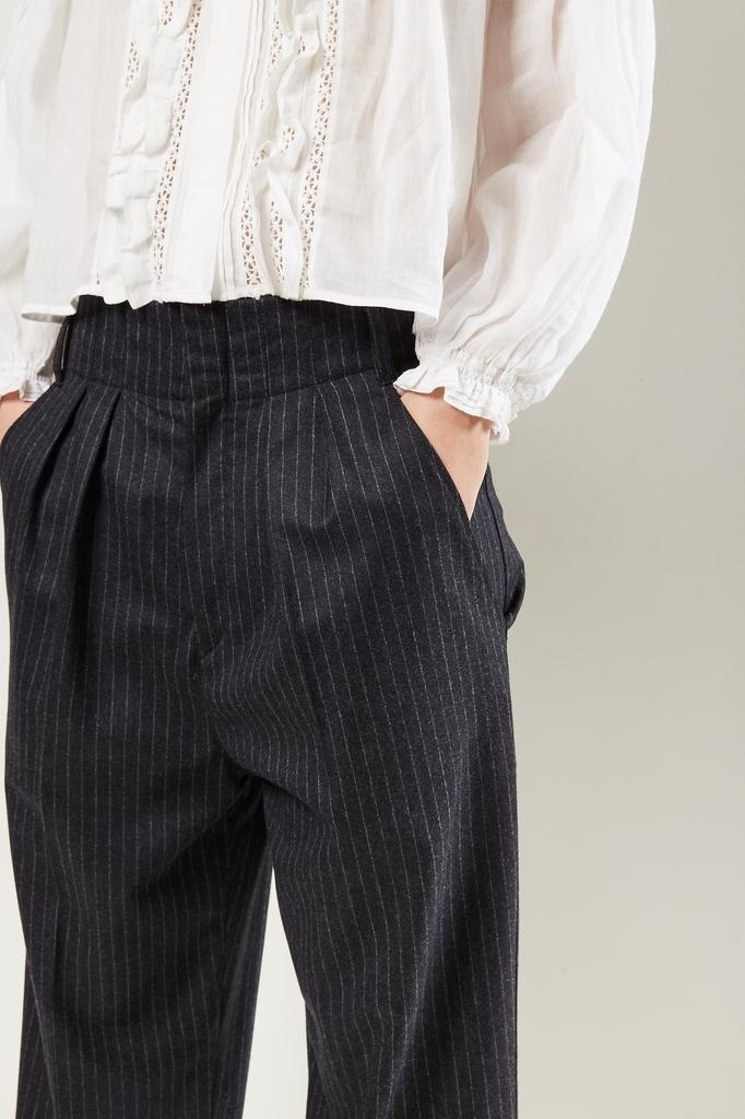 Isabel Marant - Magali pinstriped suit trousers