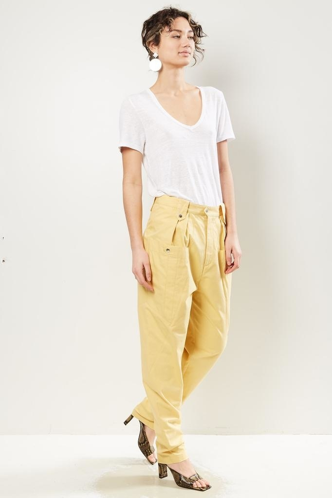 Isabel Marant - Yerris high waisted trousers