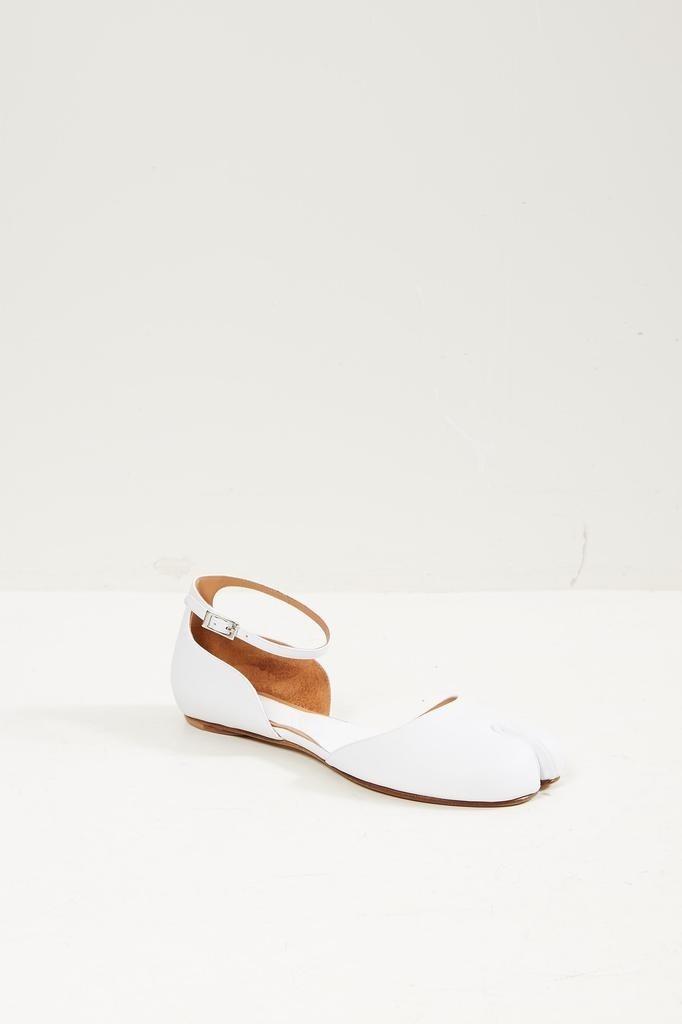 Maison Margiela Ankle strap Tabi ballerina shoes.