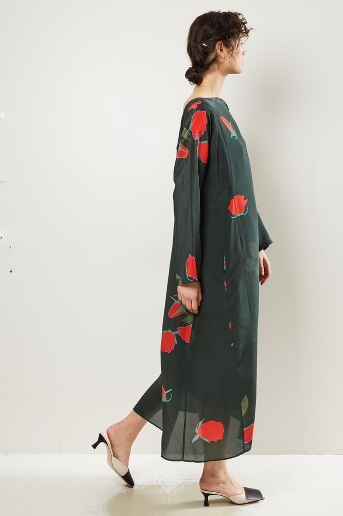 Bernadette Katy rosebud print silk dress.