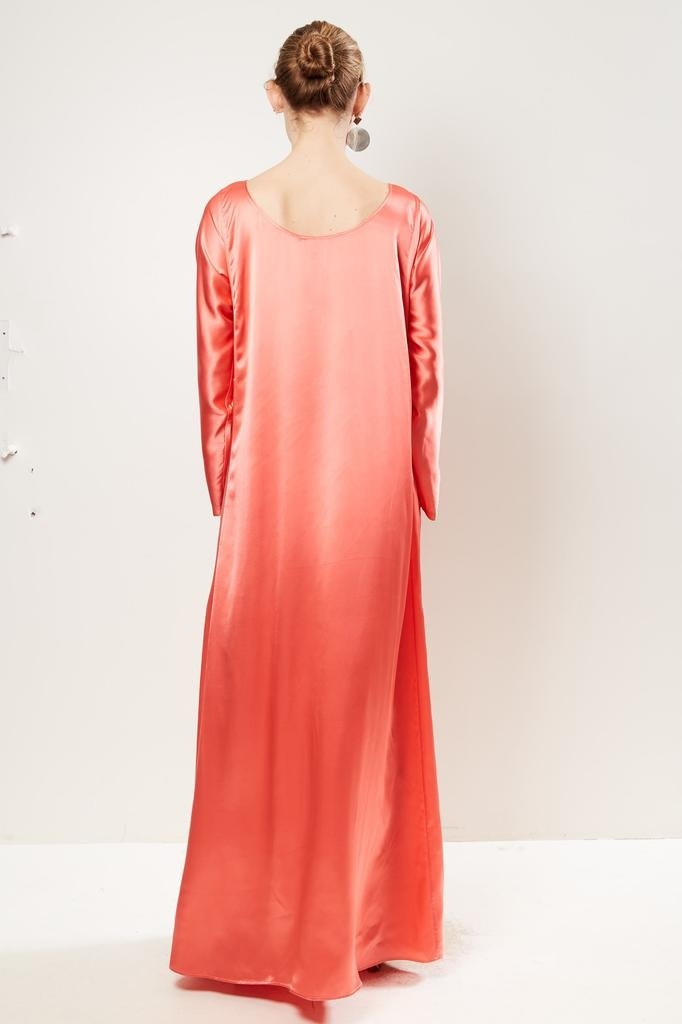 Bernadette - Katy lon silk satin dress