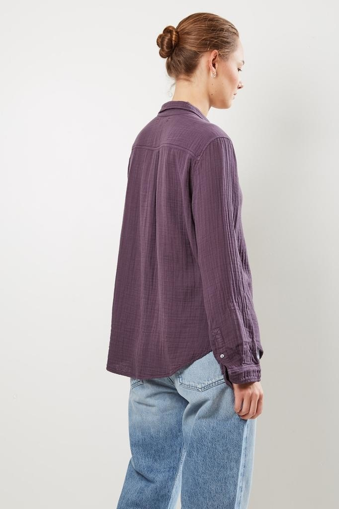 Xirena - Scout chelsea gauze shirt cisco fog