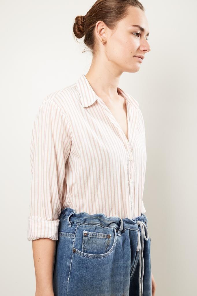 Xirena - Beau cotton stripe shirt