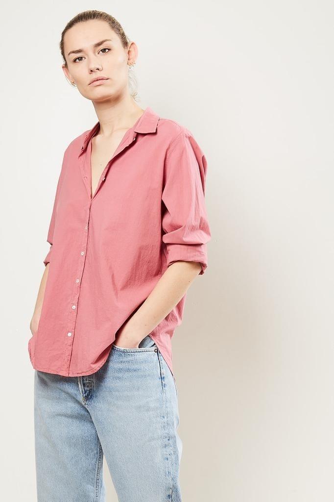 Xirena - Beau cotton poplin shirt new blush nebl