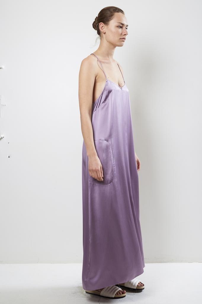 extreme cashmere - No50 pina long dress lila