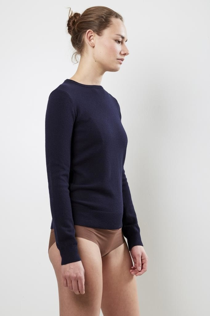 extreme cashmere - No41 classic fitted body navy